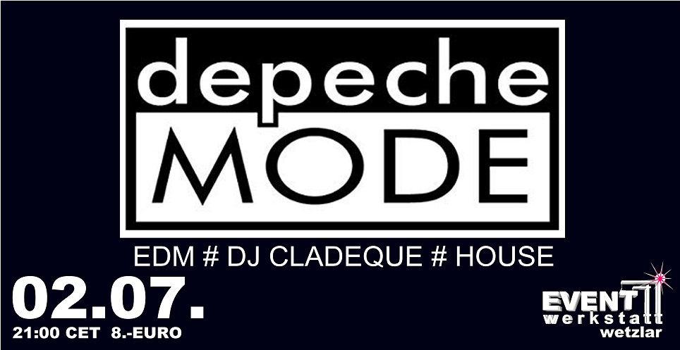 02.07.2021 - Depeche Mode Party