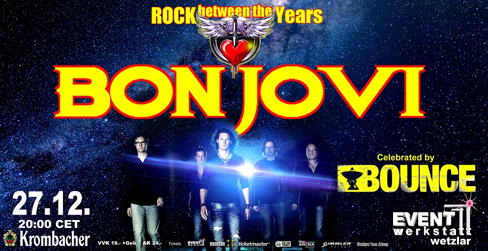 27.12.2021 - BON JOVI celebrated by BOUNCE