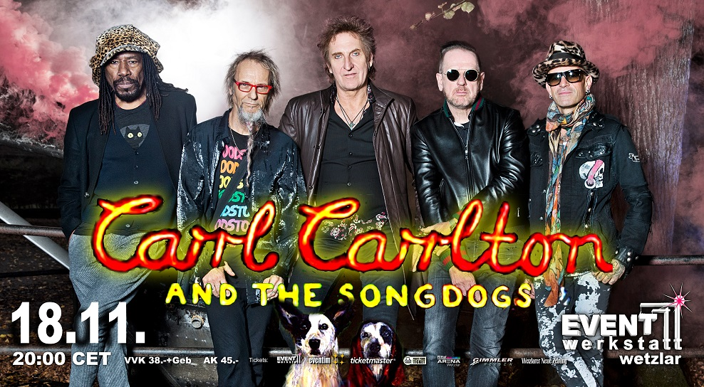 18.11.2021 - Carl Carlton and the Songdogs