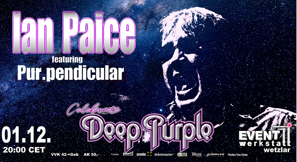 01.12.2021 - Ian Paice celb. Deep Purple