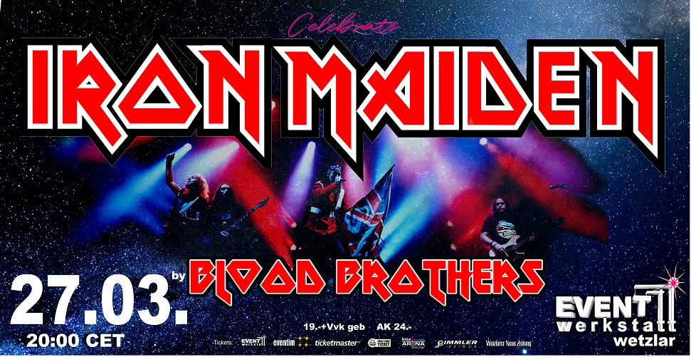 27.03.2021 - IRON MAIDEN celebrated by Blood Brothers