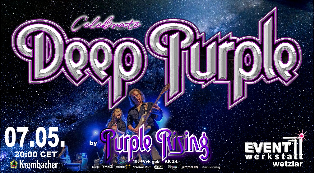 07.05.2021 - DEEP PURPLE celebrated by PURPLE RISING